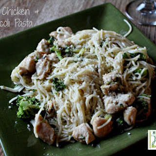 Garlic Chicken & Broccoli Pasta