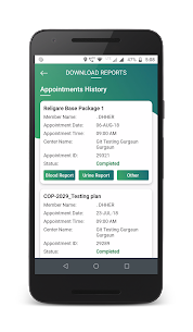 Religare Health – Customer App  Download For Android and iPhone 5