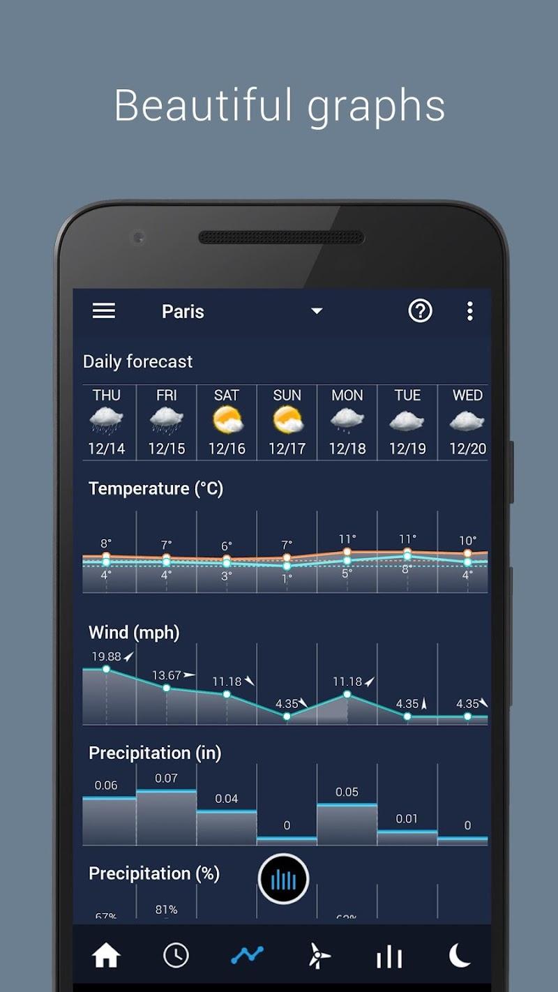 Transparent clock weather Pro Screenshot 5