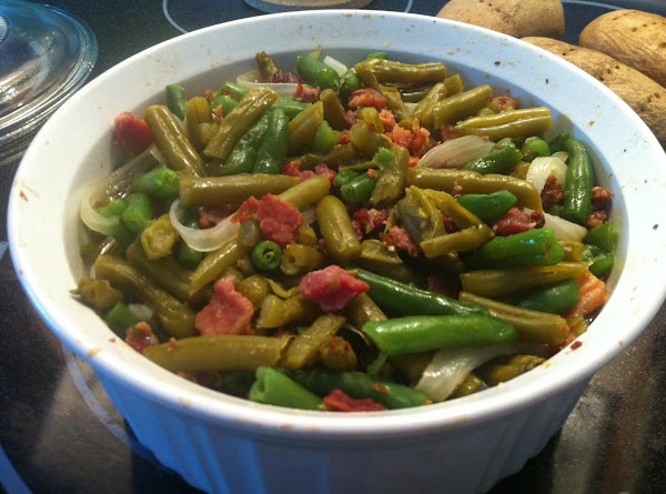 The Absolute Best Country Style Green Beans Recipe
