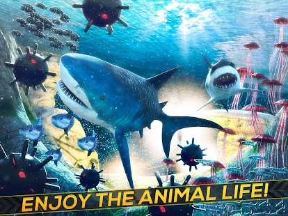 Game Sea Shark Adventure Game Free APK for Windows Phone