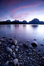 Photo: Scenic image of Jackson Lake in Grand Teton National Park, WY.