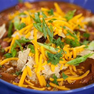 Classic Beef Chili with Beans.