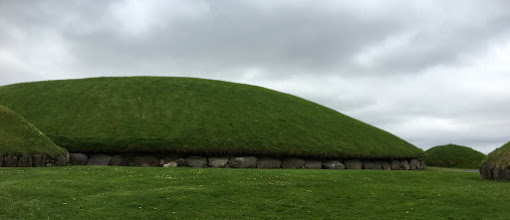 Photo: The tombs at Knowth. Built around 3,200 BC.