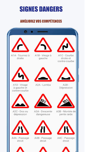 Code Triche Signalisation Routiu00e8re: Code de la Route APK MOD screenshots 4