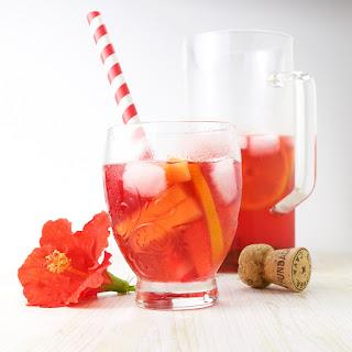 Hibiscus Sangria