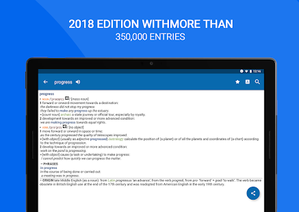 App Oxford Dictionary of English : Free APK for Windows Phone