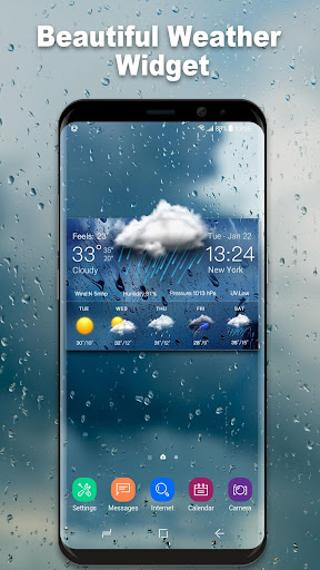 Daily weather forecast widget 16.6.0.6206_50092 screenshots 1