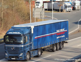 Photo: VALERIUS NEW ACTROS -----> just take a look and enjoy www.truck-pics.eu