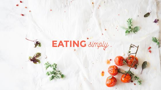 Eating Simply - YouTube Channel Art Template