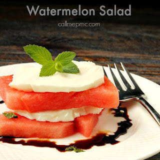 Watermelon Salad Dressing Recipes.