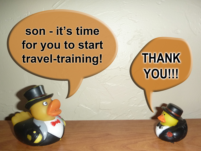 Photo: Dicky Duck Senior sends Junior on his first trip, off to Puerto Penasco in Mexico.