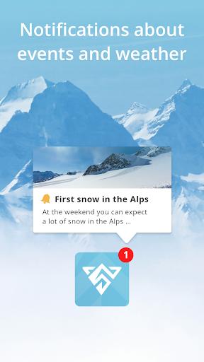 Snowthority: ski, snow, lift, slope map & ski info 1.36.0 screenshots 4