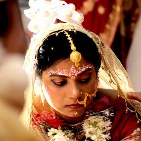 by Gautam Biswas - Wedding Bride