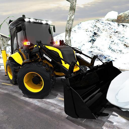 Clean Road 3D Snow Heavy Excavator Crane Rescue