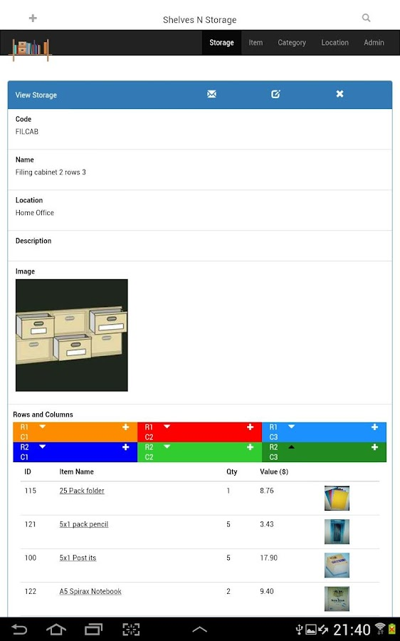 Shelves N Storage LITE- screenshot