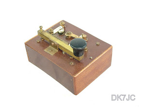 "Photo: Morsecode Transmitter  Trainingsgerät -Musonic ??-  ca.1900  ""G""  #385"