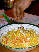 Photo: topping with chopped dried shrimp