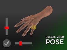 Hand Draw 3D Pose Tool FREEのおすすめ画像1