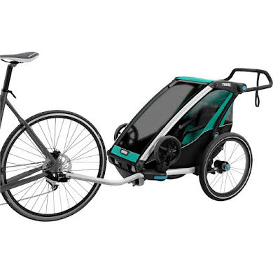 Thule Chariot Lite 1 Trailer and Stroller: Bluegrass, 1 Child alternate image 0