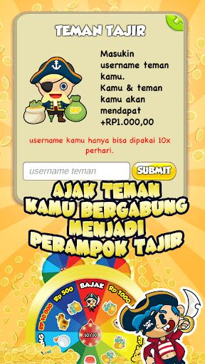 Perompak Tajir - Pulsa Gratis Hadiah Gratis 1.1.0 screenshots 4