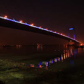 Kolkata Bridge by Soumen Mitra - Buildings & Architecture Bridges & Suspended Structures (  )