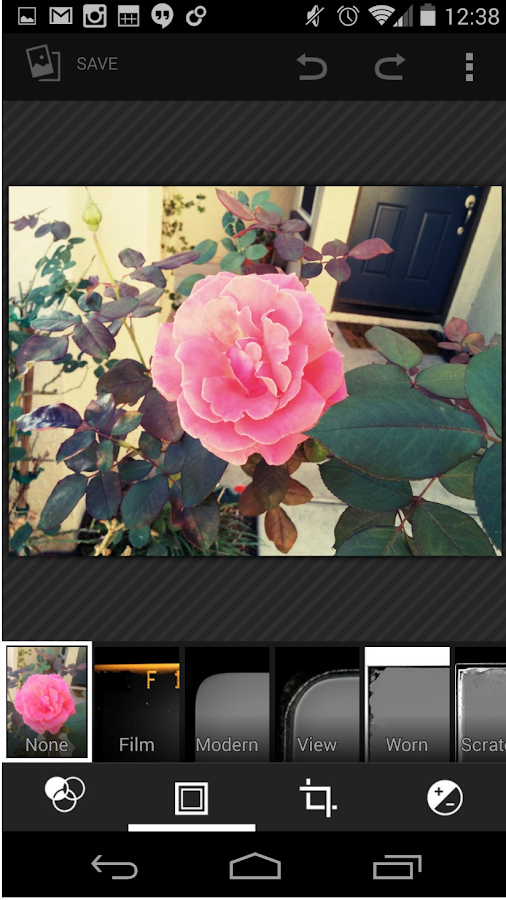 Screenshots of Gallery Pro for iPhone