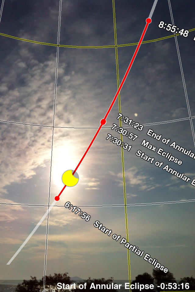 Annular Solar Eclipse 2012