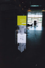 Photo: Display for 101 event. Design by Anna Petrou.