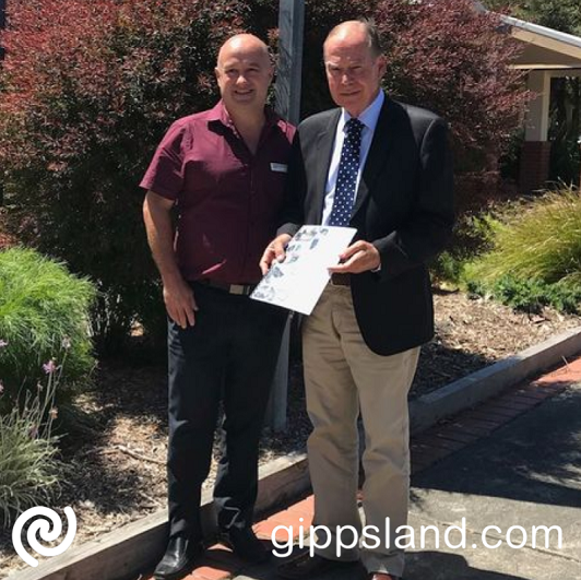 Current local member Russell Broadbent MP, have met with Mayor, Cr Brett Tessari to seek support for our key priorities