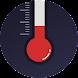 リアルタイム温度計 湿度計 - 気圧計&気温計,屋外温度、湿度を正確に測定し、と快適性を測定する