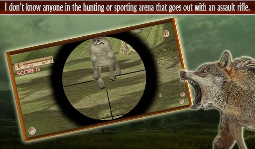 Wolf Hunter 3D