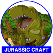 Jurassic Craft adventure mod for MCPE