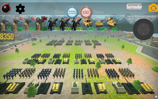 World War 3: European Wars - Strategy Game  captures d'écran 1
