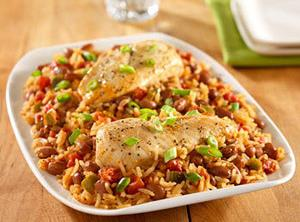 Spicy Chicken With Rice And Beans Recipe