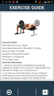 GYMG FITNESS & WORKOUT- screenshot thumbnail