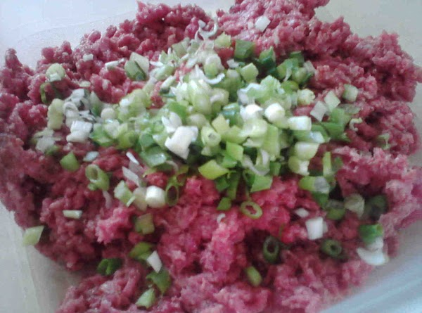 Mix first 7 ingredients for patties, shape into 4 patties. Grill or fry for 5-6...
