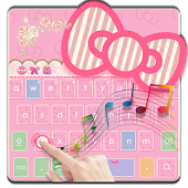 Pink Kitty Music Keyboard