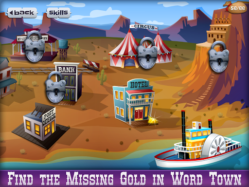 Mystery Word Town: Spelling