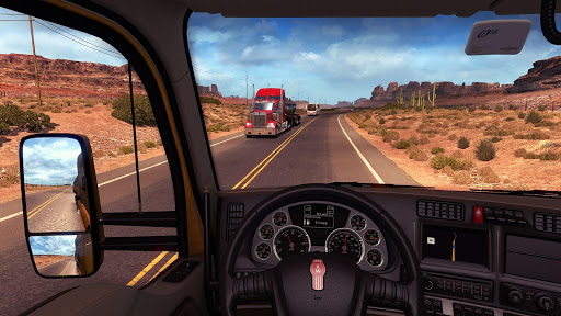 American Truck Traffic Mode