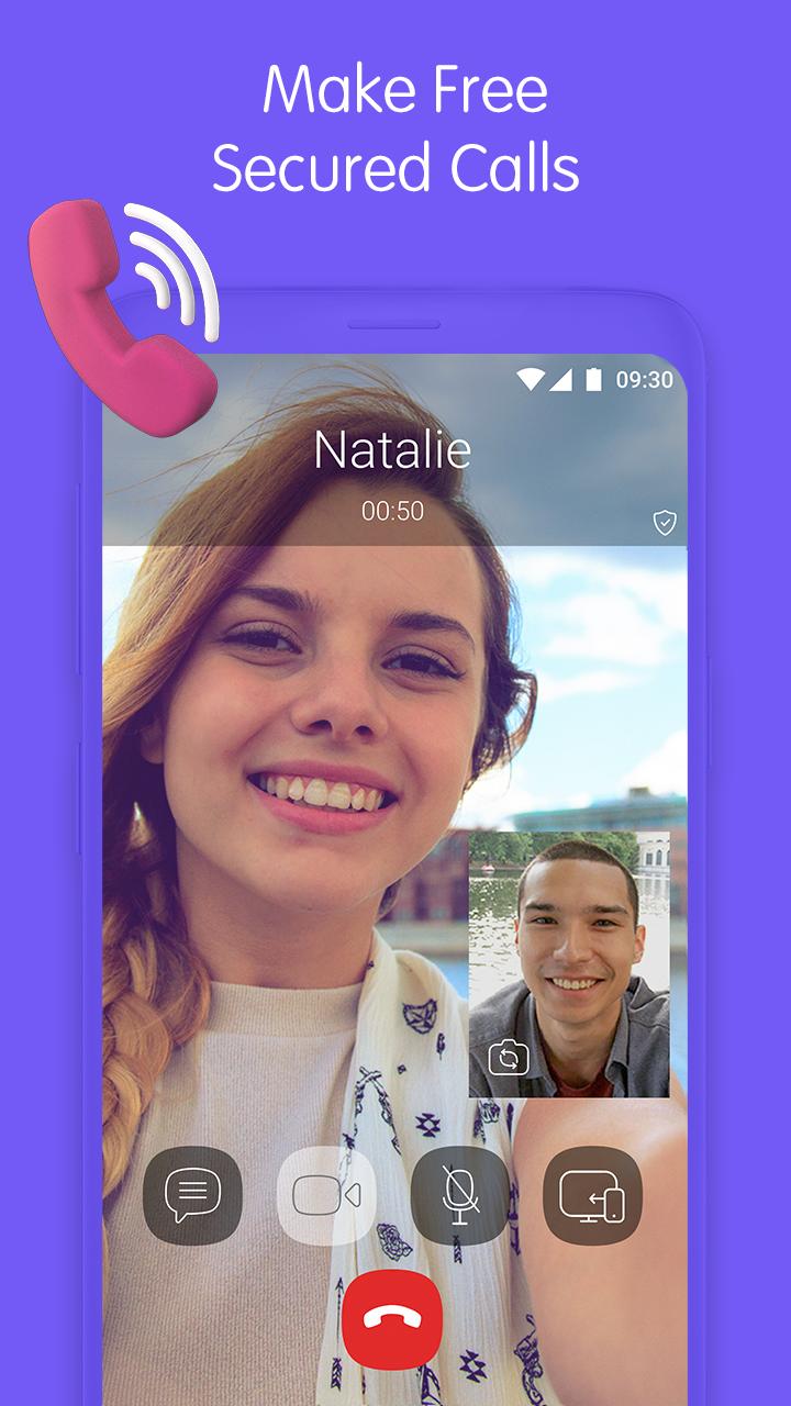 Viber Messenger Screenshot 1