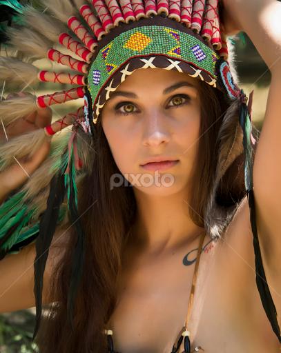 Sexy native american women