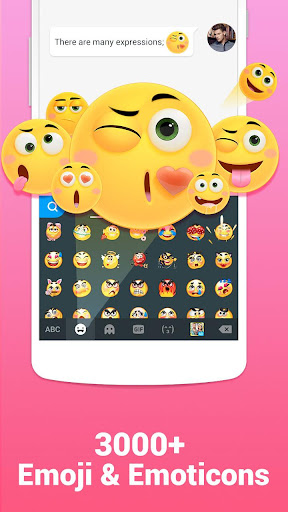 Kika Keyboard - Emoji, GIFs screenshot 1