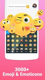 Kika Keyboard - Emoji, Emoticon, GIF,Sticker,Theme- screenshot thumbnail