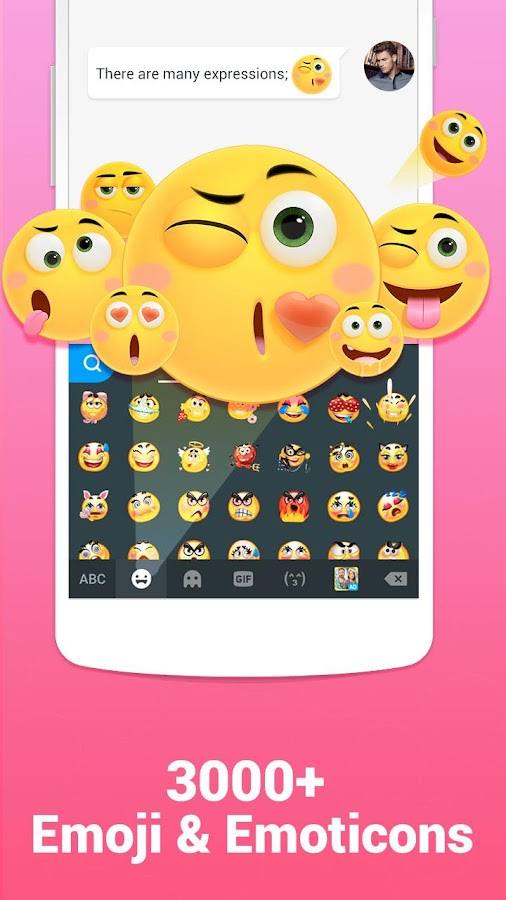Kika Keyboard - Emoji, Emoticon, GIF,Sticker,Theme- screenshot