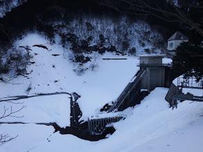 石田川ダム取水側