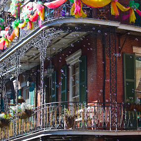 French Quarter, New Orleans by Tony Richard - City,  Street & Park  Street Scenes