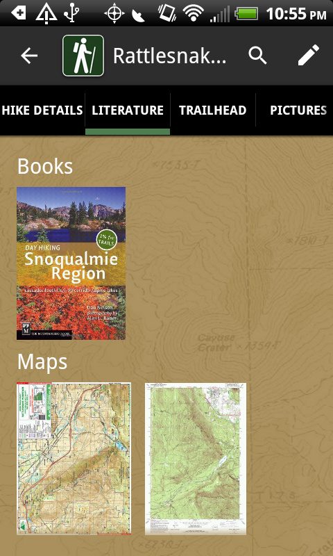 Pacific Northwest Hikes- screenshot