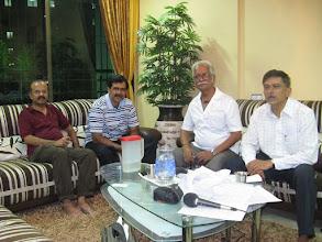 Photo: Uday, Sharad, Anil, Ajit - Residence of JGanesh