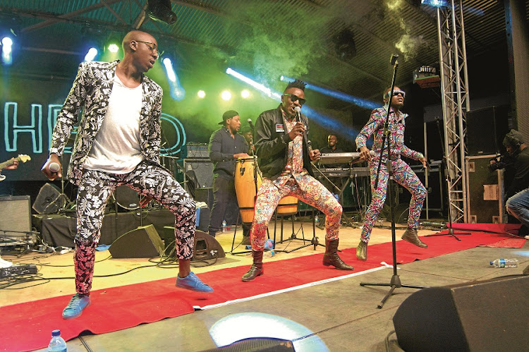 Sauti Sol. Made the decision to do as many shows in Africa as they could. Picture: THEMBA VILAKAZI